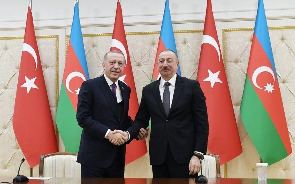 President Aliyev -President Erdogan
