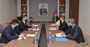 Azerbaijan`s FM meets Uzbek ambassador