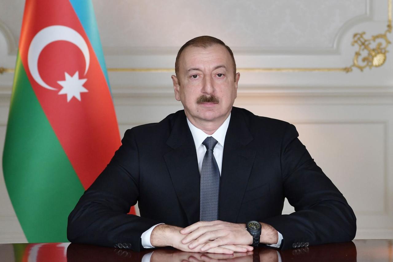 President Ilham Aliyev