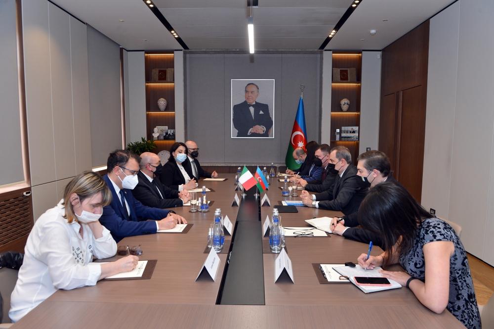 Azerbaijan, Italy