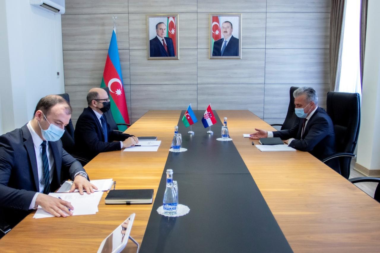 Azerbaijan, Croatia