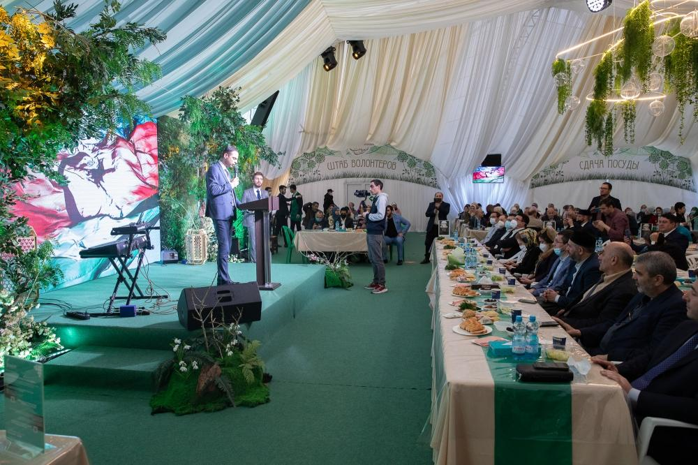 Iftar party in Moscow