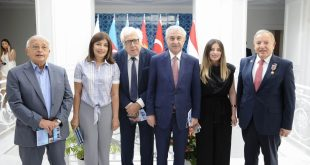 """International Turkic Culture and Heritage Foundation hosts presentation of book """"44 Days of the Patriotic War, Hulusi Kilic on the information front"""""""