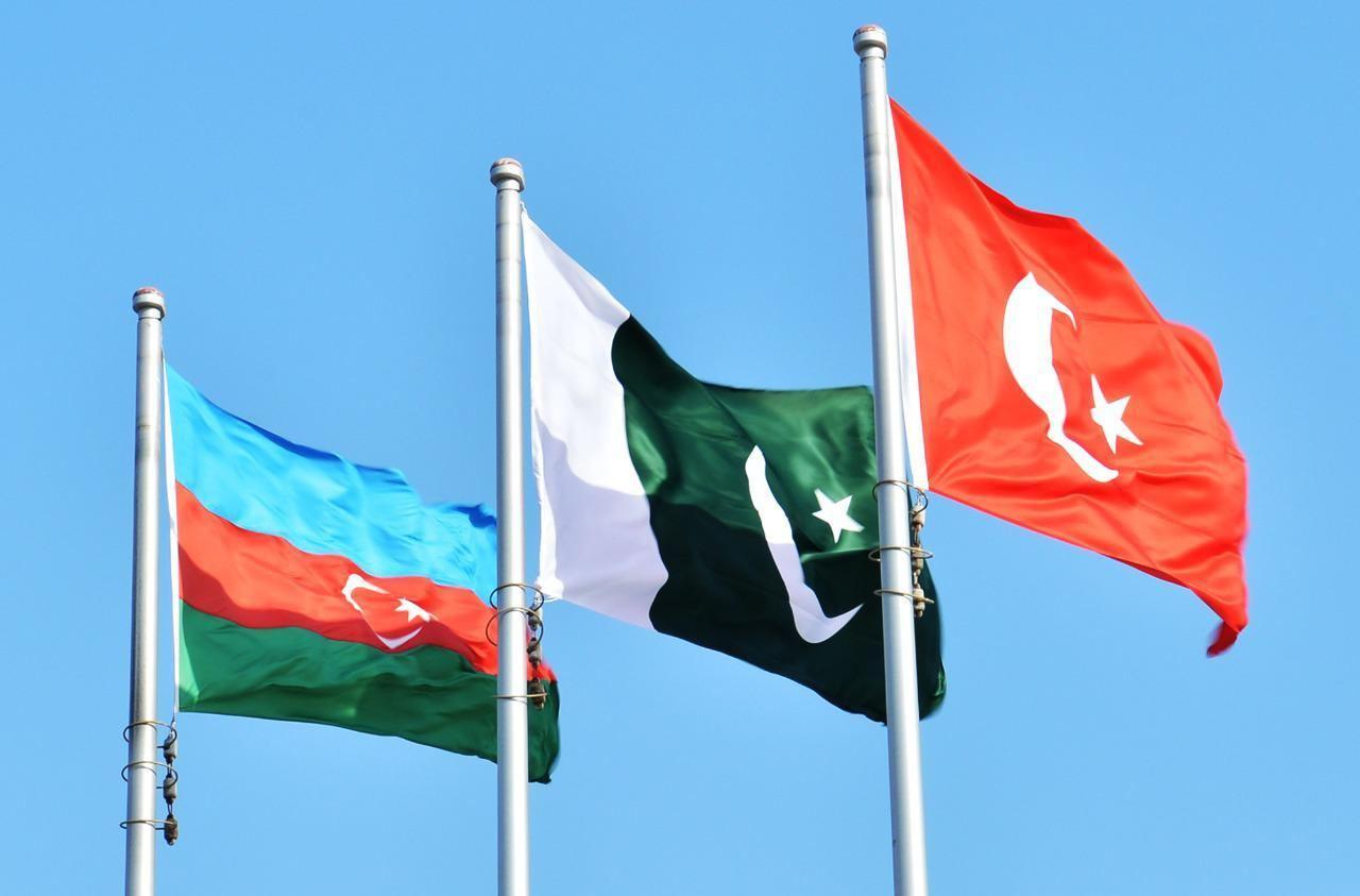 Azerbaijan, Turkey, Pakistan