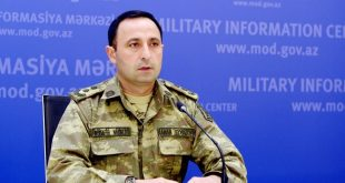 Lieutenant Colonel Anar Eyvazov: The statement made by Ministry of Defense of the Russian Federation is surprising and regrettable