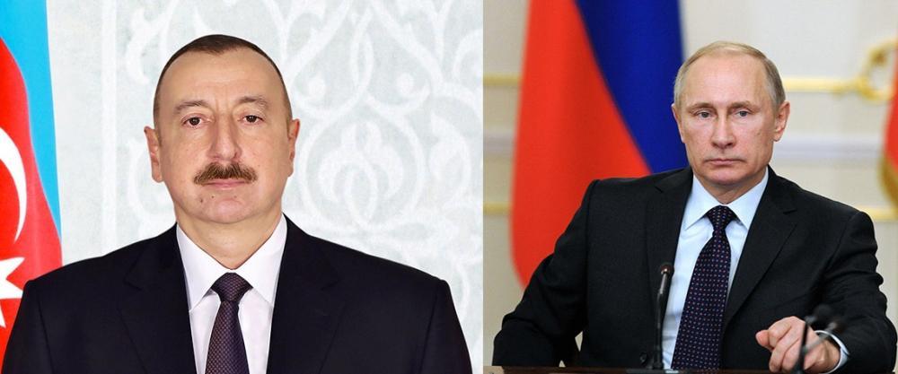 Ilham Aliyev-Vladimir Putin