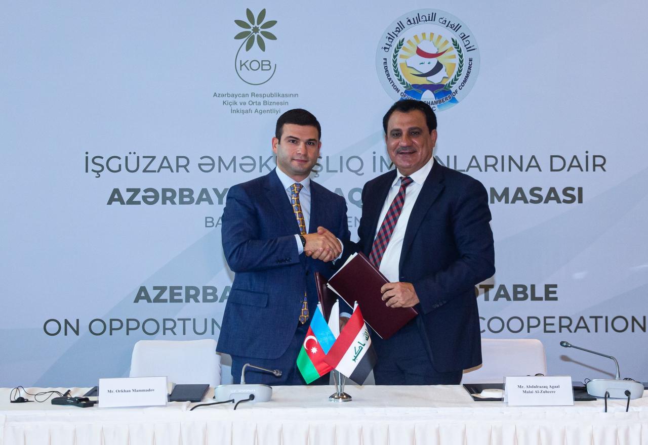 Azerbaijan, Iraq