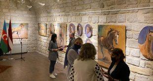 Karabakh horse through eyes of artist