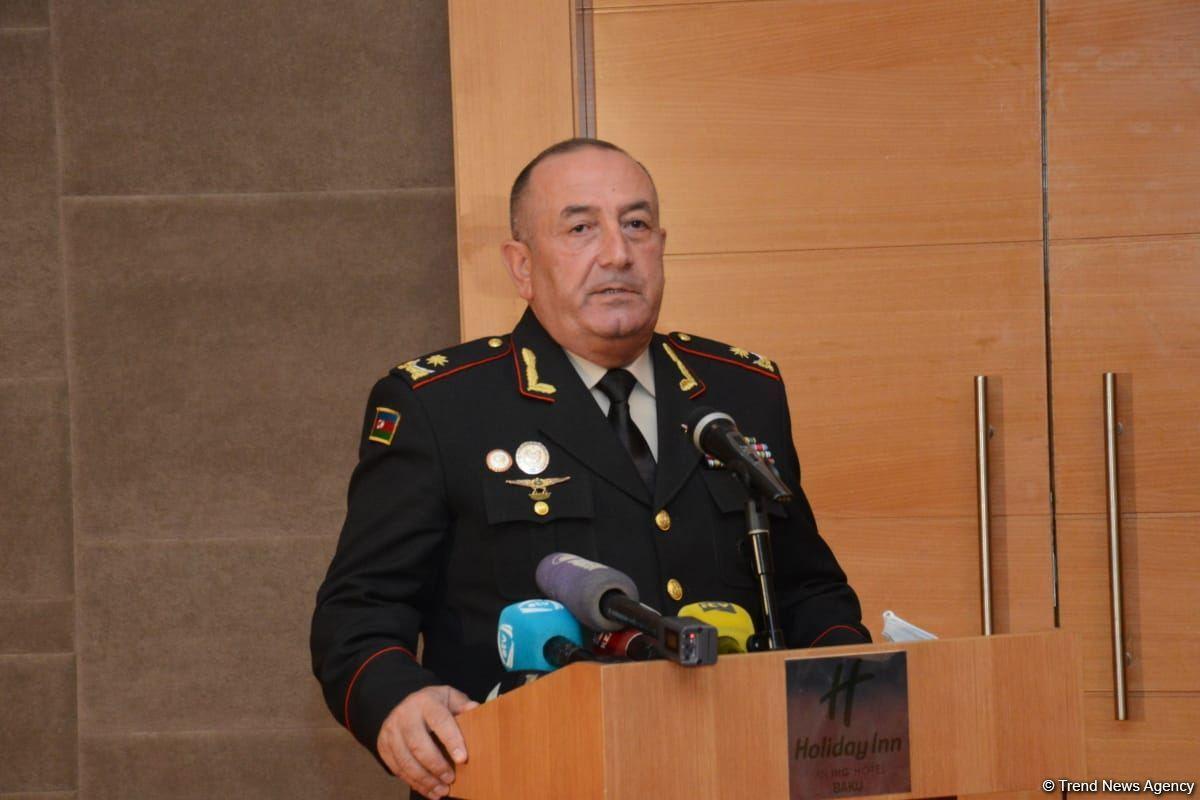 Major General Bekir Orujov