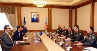 Azerbaijani defense minister meets with NATO Special Representative for Caucasus and Central Asia