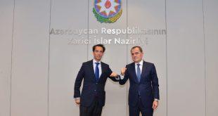 Azerbaijani FM meets with NATO Secretary General's Special Representative